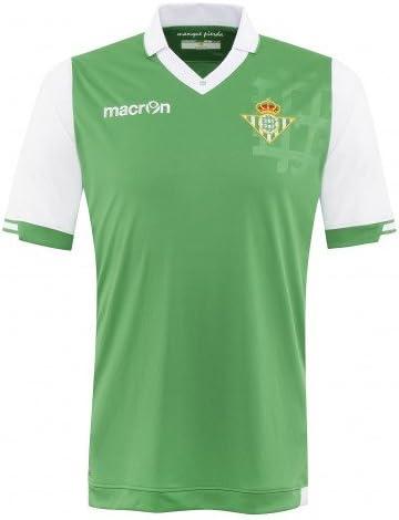2014-2015 Real Betis auténticos irradiar camisa Blanco blanco ...