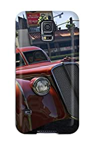 7788926K88671599 Awesome Design Grand Theft Auto V Hard Case Cover For Galaxy S5