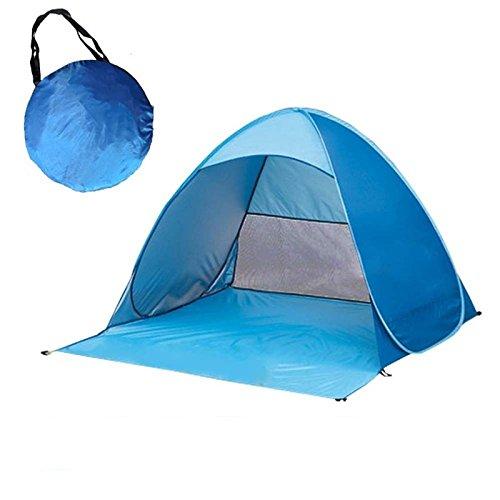 息苦しい着飾る精通したYUEHAO キャンプテント トップシート付き 防水 通気性抜群 紫外線防止 超軽量 折りたたみ 撥水加工 設営簡単 キャンプ用品 登山 全4色選べる