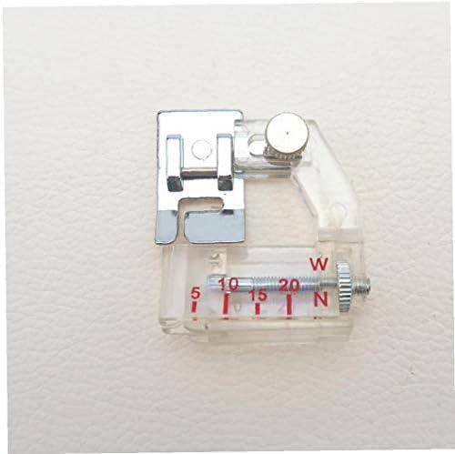 Hogar Multifuncional Máquina De Coser Eléctrica Bordeadora Prensatelas 5-20mm Pueda Libremente Ajustado: Amazon.es: Hogar