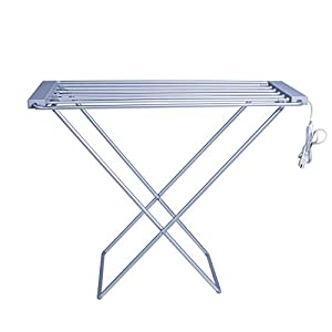 MAYKKE Arrabelle 100W Electric Laundry Clothes Drying Rack, Foldable Portable Clothes Dryer Airer Warmer UL Certified, XDB1010101