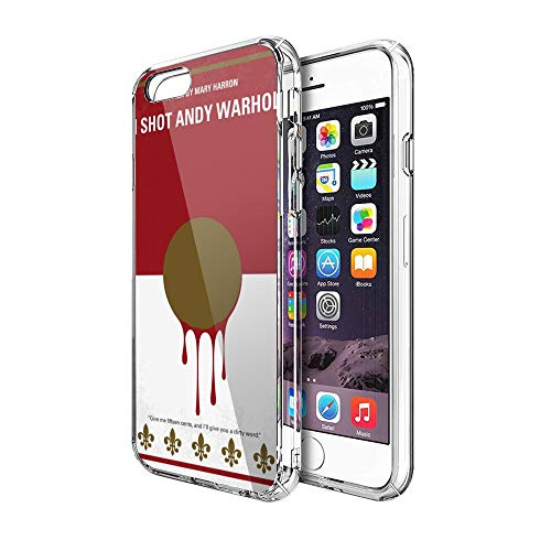 Case Phone Anti-Scratch Cover Motion Picture Based On The True Story of Valerie Solanas Who was A Movies (5.5-inch Diagonal Compatible with iPhone 7 Plus, iPhone 8 Plus)