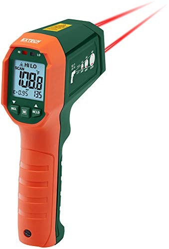- Waterproof Dual Laser IR Thermometer