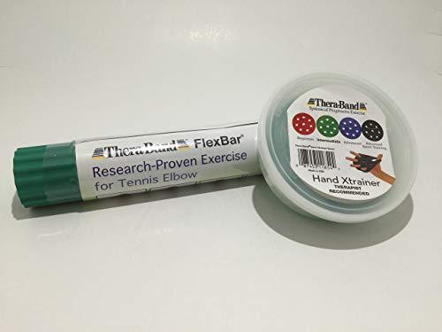 Thera-Band Flexbar PLUS Hand X-Trainer - Thera Trainer Hand Band