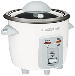 & Decker RC3203 3-Cup Rice Cooker : Perfect for a couple!