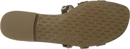 Sam Edelman Womens Bay Sandalo Con Slittino New Nude Large Giraffe Brahma