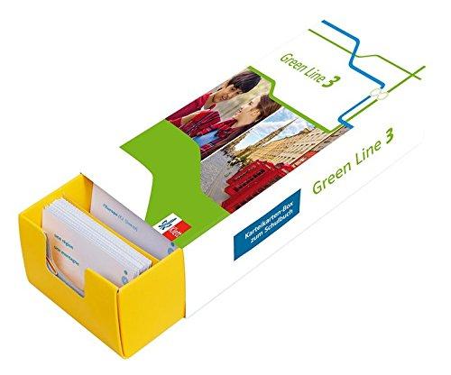 Klett Green Line 3 G8 Klasse 7 - Vokabel-Lernbox zum Schulbuch: Englisch passend zum Lehrwerk üben