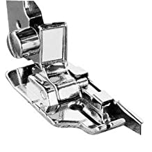 1-4 (Quarter Inch) Quilting Sewing Machine Presser Foot with Edge Guide - Fits All Low Shank Snap-on Singer*, Brother, Babylock, Husqvarna Viking (Husky Series), Euro-pro, White, Bernina (Bernette Series), New Home, Elna and More!