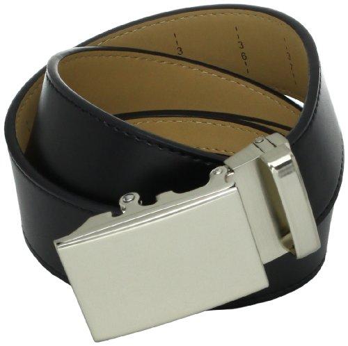 Nexbelt Men's Go-in Belt, Shield Black, 28-40-Inch -