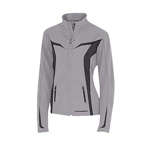 (Polaris Slingshot Womens Gray Softshell Jacket- Xlarge)