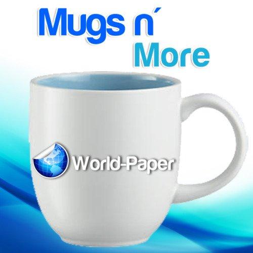 Mugs N More Laser Heat Transfer Paper 8.5''x 11''(25 sheets) - 11' Full Sheet