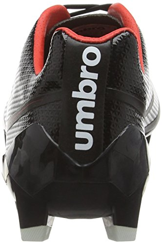 Umbro Velocita 2 Pro Hg, Botas de Fútbol para Hombre Negro (Ecl-Black/White/Grenadine)
