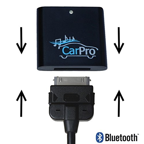 Coolstream Bluetooth Adapter for 2011 or Earlier Mercedes iPod iPhone 30 Pin Cable CarPro by Coolstream