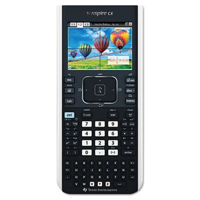 TEXAS INSTRUMENT TINSPIRECX TI-Nspire CX Handheld Graphing Calculator with Full-Color Display by Texas Instruments