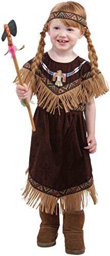 Pow Wow Man Indian Costumes (Forum Novelties Native American Princess Costume, Toddler Size)
