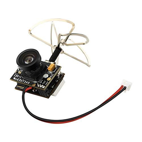 Isali 2018 Eachine TX02 Super Mini AIO 5.8G 40CH 200mW VTX 600TVL 1/4 Cmos FPV Camera for FPV Multicopter