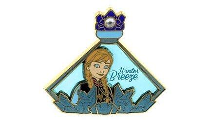 Authentic Disney WDW / Disneyland Eau de Magique Frozen's ANNA LE Pin SOLD OUT! HTF RARE FROZEN ()