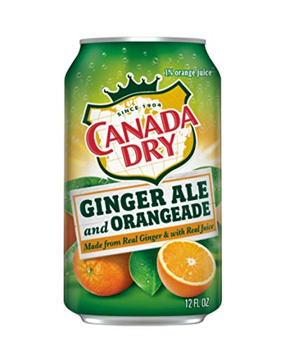 Canada Dry Ginger Ale and Orangade - 12pk / 12 fl oz Cans