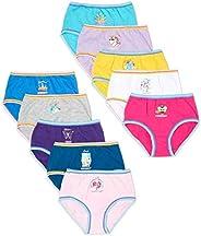 Wonder Nation Clothing Days of The Week Prints Assorted 10 Pack Briefs Panties