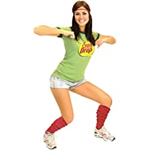 Women's Sun Drop T-shirt Headband and Leg Warmers Set