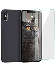 JASBON Case for iPhone XS Max,Business Men Phone Case with Free Tempered Screen Full Protective Phone Replacement 6.5inch Cover for iPhone XS Max