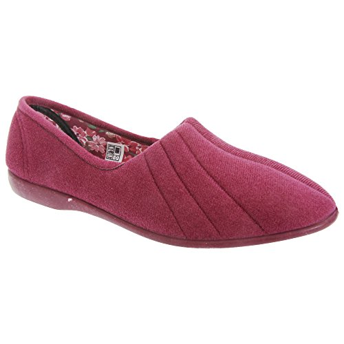 Hausschuhe UK Audrey GBS Damen Damen Slipper Heather 5 nn8Izgwx