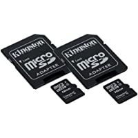 Sony HDR-CX405/B Camcorder Memory Card 2 x 16GB microSDHC Memory Card with SD Adapter (2 Pack)