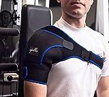 Shoulder Brace for Men,Women - Shoulder Support for Rotator Cuff, Shoulder Pain, Dislocated AC Joint, Shoulder Compression Wrap, Shoulder Harness, Compression Sleeve for Tendonitis, Shoulder Sling.