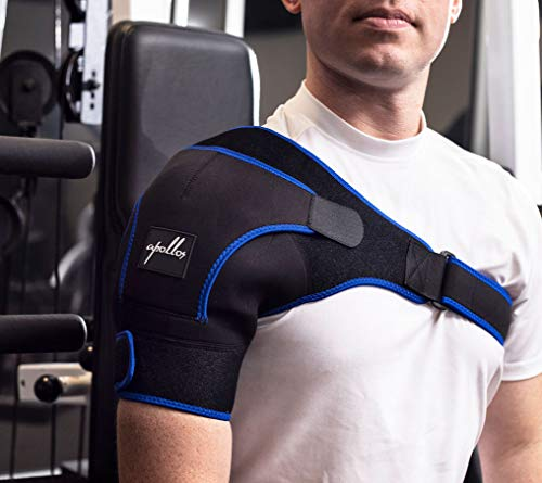 Harness Cuff (Shoulder Brace for Men,Women - Shoulder Support for Rotator Cuff, Shoulder Pain, Dislocated AC Joint, Shoulder Compression Wrap, Shoulder Harness, Compression Sleeve for Tendonitis, Shoulder Sling.)