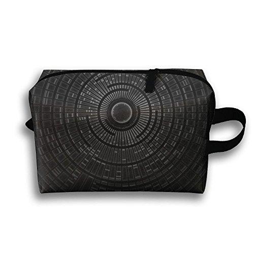 Kaleidoscope Pattern Cosmetic Bags Makeup Organizer Bag Pouch Zipper Purse Handbag Clutch Bag]()