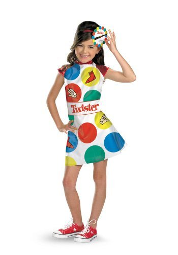 Morris Costumes Girl's TWISTER CHILD, 4-6 by Morris Costumes