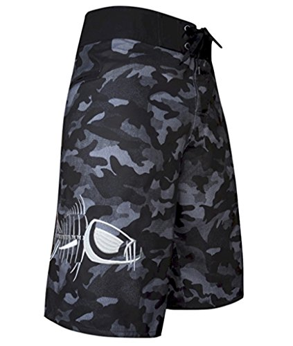 Tormenter Men's Tuna Waterman Stretch Boardshorts, Gray Camo, 34 by Tormenter