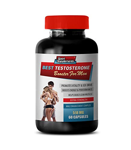 Man Sexual Enhancement Pills - Best Testosterone Booster for Men - Male Enhancement Complex - Horny Goat Weed Extra Strength - 1 Bottle 60 Capsules