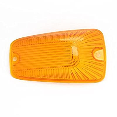 KOMAS 5pcs Top Roof Light Cab Clearance Marker Cover Lens for 1988-2002 Chevy/GMC C/K1500/2500/3500/4500/5500/6500/7500 Kodiak Topkick Trucks (Amber): Automotive