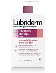 Lubriderm Advanced Therapy Extra Dry Skin Lotion, 16 Fl. Oz. (Pack of 2)