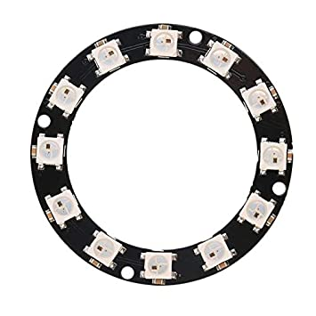 12bit 16bit WS2812 5050 RGB LED Light Ring Integrated Driver Module for Arduino