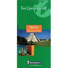 Michelin Mexico Guatemala Belize Green Guide