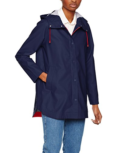 443 Hilfiger Bonnie Women's Peacoat Blue Rainwear Parka Jacket Tommy 8ZxdpwHx