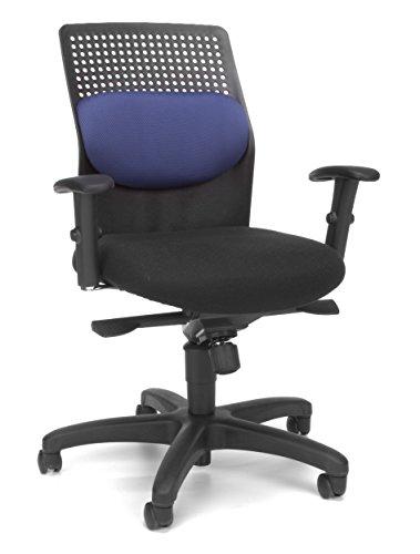 OFM AirFlo Series Executive Task Chair -  Ergonomic Work Chair, Blue (650-M10)