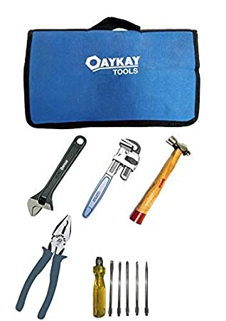 Oaykay Tools DIY General Purpose Hand 10 Tool Kit