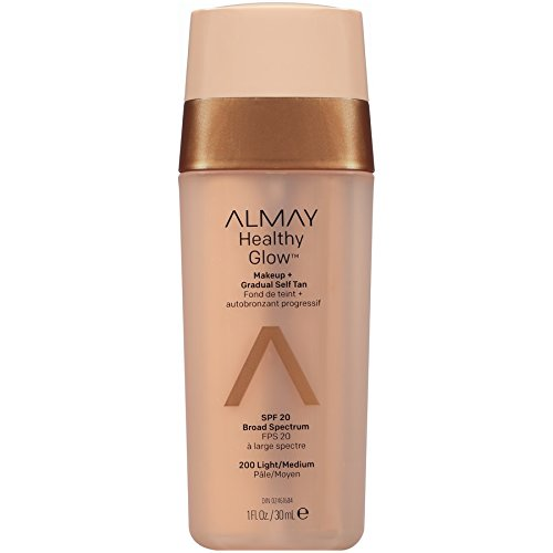 (Almay Healthy Glow Makeup & Gradual Self Tan, Light/Medium)