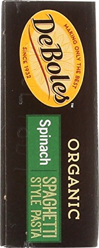 DeBoles Organic Spinach Pasta, Spaghetti, 8 Ounce (Pack of 12) by DeBoles (Image #3)