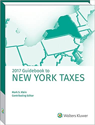New York Taxes, Guidebook