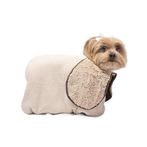 Dog Gone Smart Zip n' Dri, X-Small, Khaki For Sale