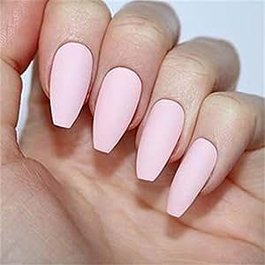 BloomingBoom - Baúl de uñas postizas de 12 tamaños, 24 ...