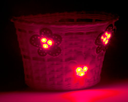 Schwinn Girl's Bicycle Lighted Basket