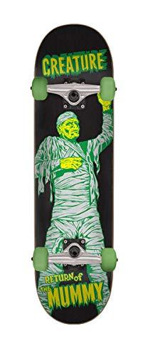 (Santa Cruz Creature Skateboard Complete The Mummy Black 7.75
