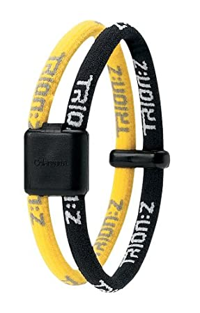 Trion Z Wrist Bracelet Medium Black Yellow Amazon Co Uk Sports