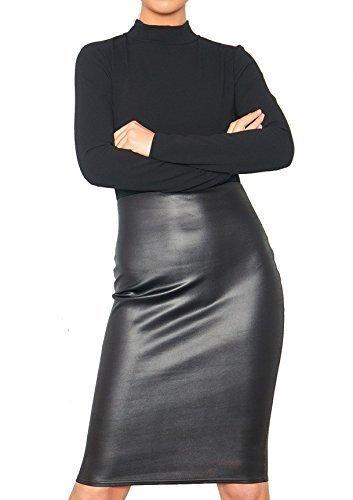Re Tech UK - Vestido Ajustado hasta la Rodilla para Mujer - Cuello ...