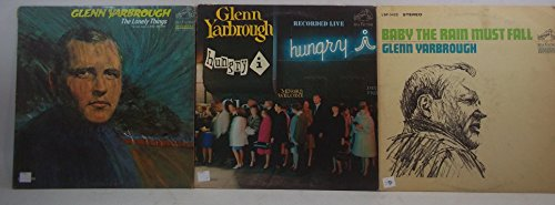 Glenn Yarbrough Lot of 3 Vinyl Record Albums Baby the Rain Must Fall and more (Glenn Yarbrough Baby The Rain Must Fall)